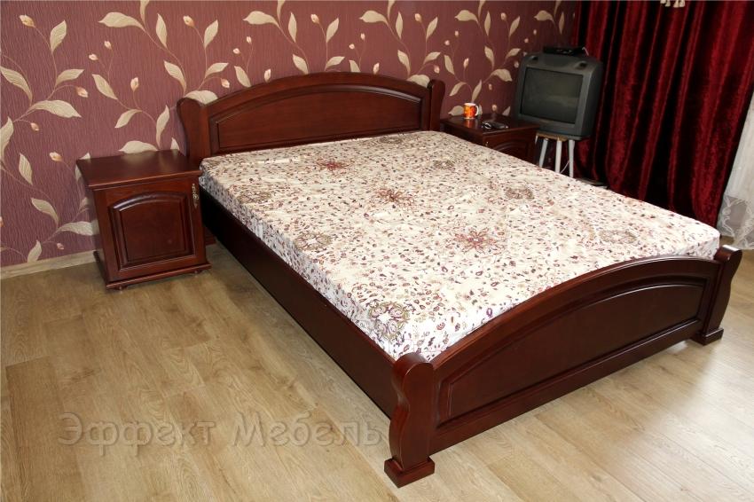 """Кровать """"Нинель"""" из массива Ясеня"""
