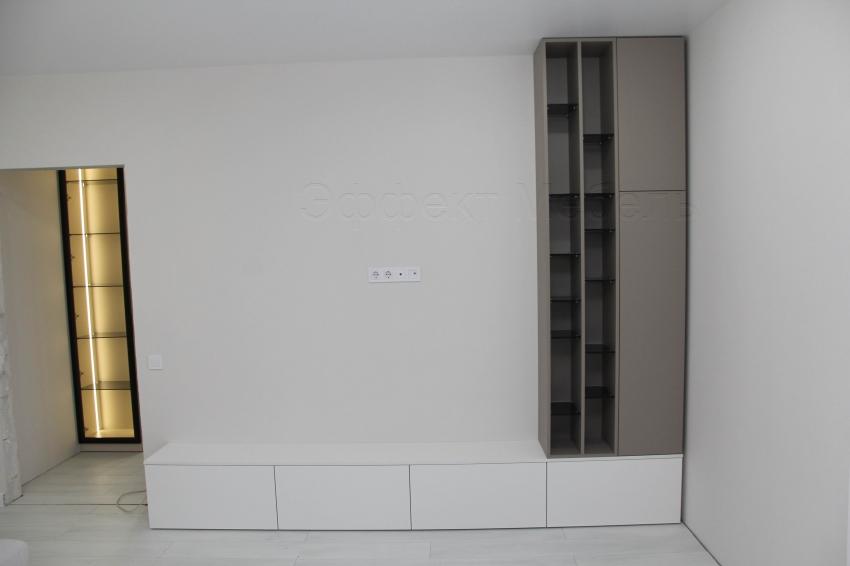 ТВ тумба со шкафом