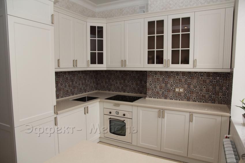 """Кухня """"Премиум"""" с крашеными фасадами"""