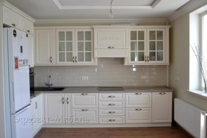 """Кухня """"Эльза"""" с фасадами из МДФ крашеный"""