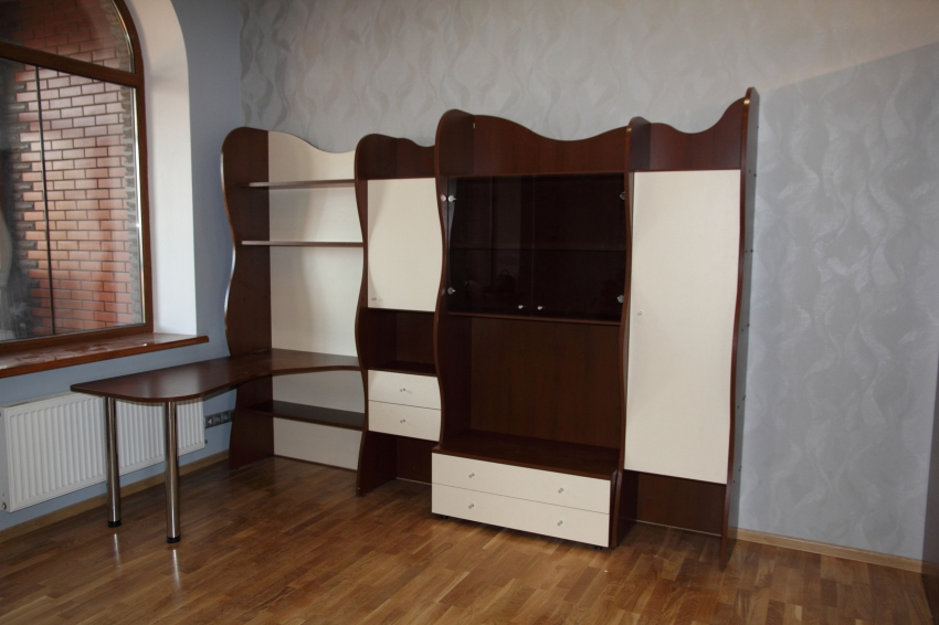 """Стол письменный  со шкафом """"Волна"""""""