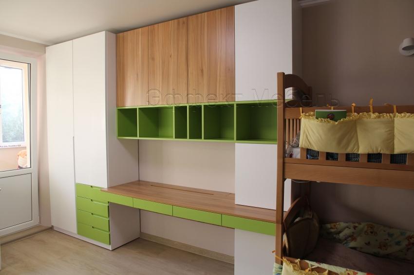 мебель из МДФ в детской комнате