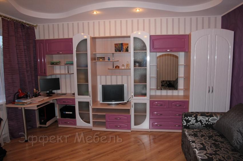"""Горка мебельная """"Соната"""" фасады МДФ глянец"""