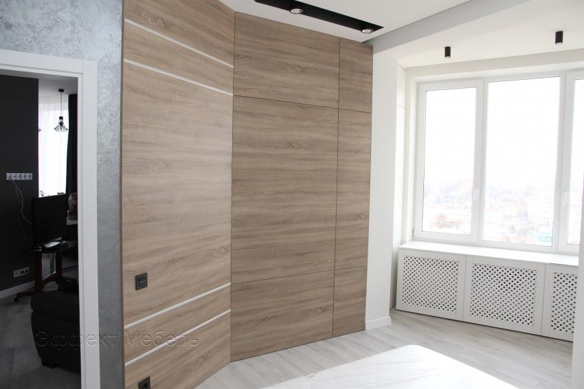 Шкаф встроенный из ДСП EGGER.