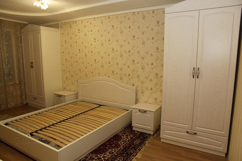 Шкаф в спальню с фасадами МДФ