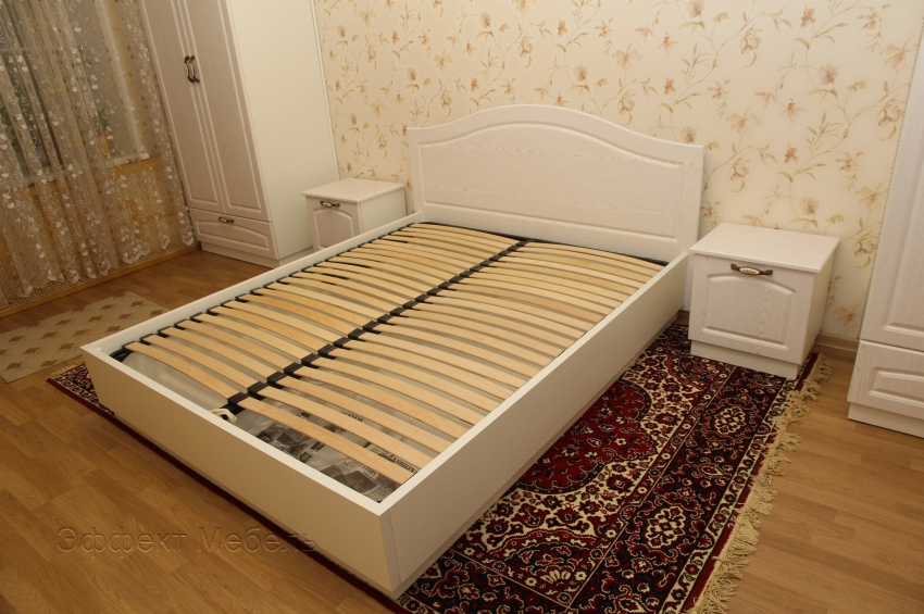Кровать двух спальная из МДФ