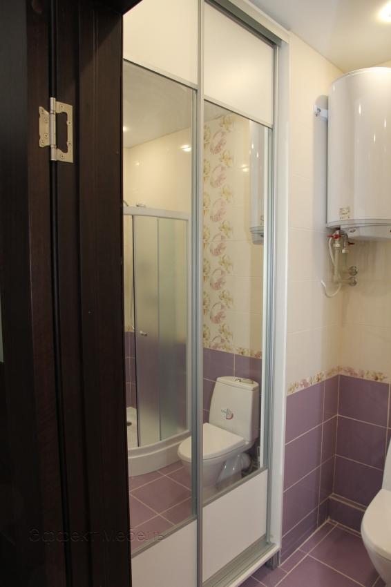 Шкаф купе в ванной