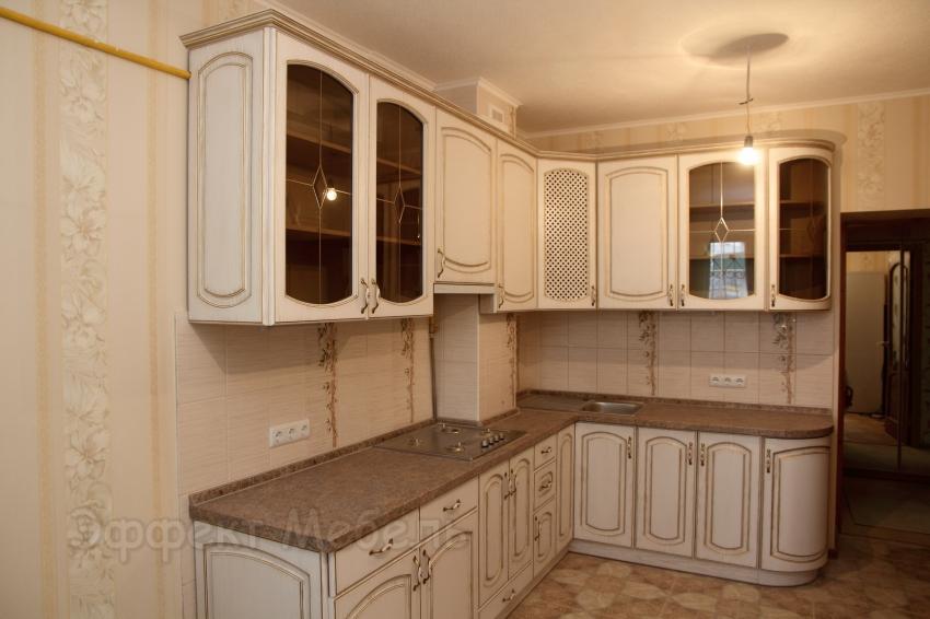 Кухня с фасадом из МДФ угловая