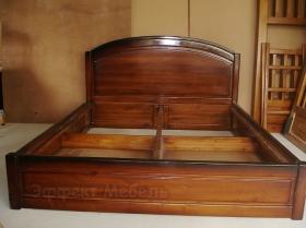 Кровать двухспальная из массива Клёна