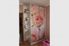 """Шкаф-купе """"Роза"""" двери с фотопечатью"""
