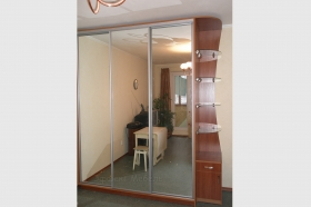 Шкаф-купе двери с зеркалом
