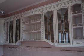 Кухня с фасадами из массив дуба