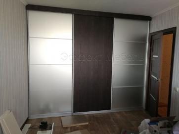 Шкаф купе встроенный (косой)