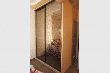 """Шкаф купе """"Элегант"""" двери зеркало бронза"""