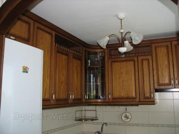 Кухня  с фасадами из Ясеня