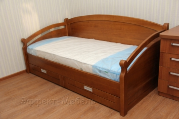 Кровать из массива Ясеня, с выдвижными ящиками