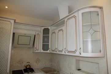 Кухня с фасадом МДФ с патиной