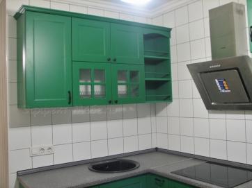 Кухня с фасадами МДФ крашенный матовый