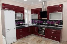 "Кухня ""Орхидея"" с  МДФ фасадами"