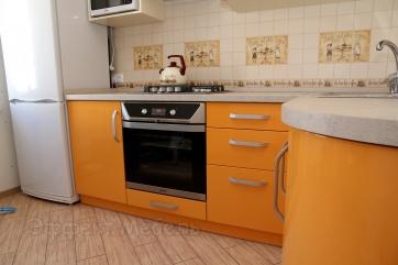 Кухня с фасадом МДФ крашеный